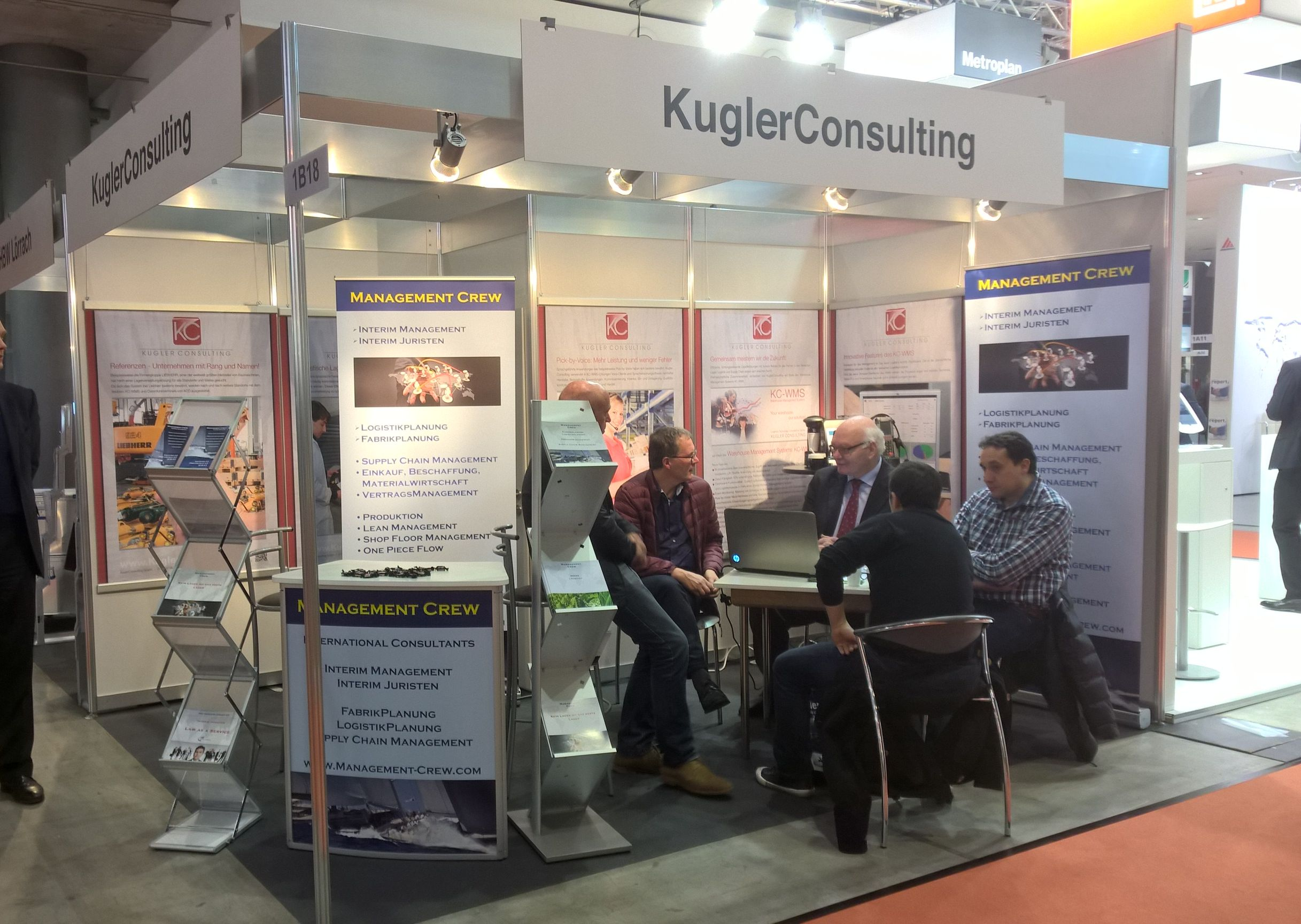 LogiMAT 2016 Messestand